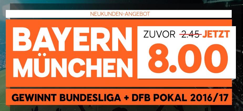 bayern muenchen double sieger quoten 2016 888sport