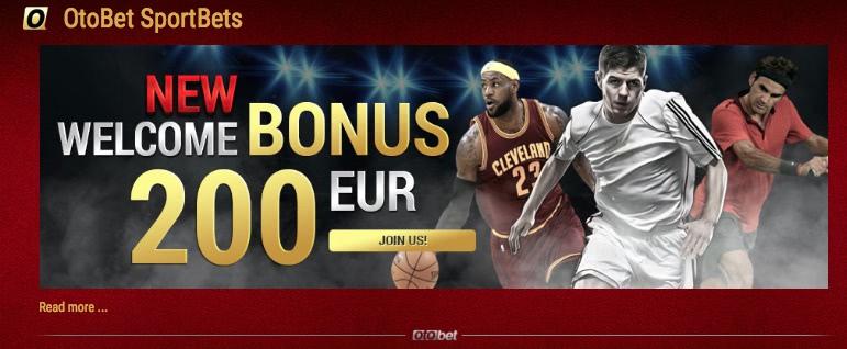 Otobet 220 euro Bonus