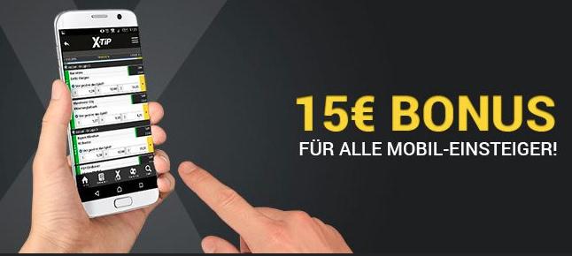 xtip app bonusangebot fuer erste wette