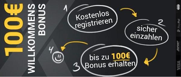 X Tip Bonus Bedingungen
