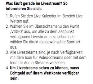 bwin livestreaming