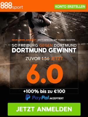 Freiburg Dortmund Quoten