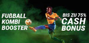 Bet90 Fußball Kombi Booster Combo Mobil