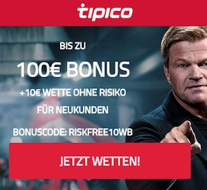 Tipico Bonus Ohne Einzahlung