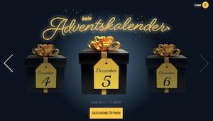 Bwin Adventskalender Promotion Desktop