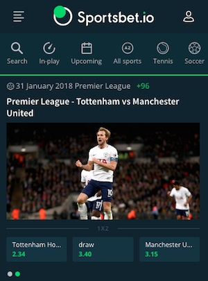 Sportsbet io Startseite