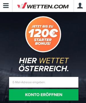 Wetten.com Startseite