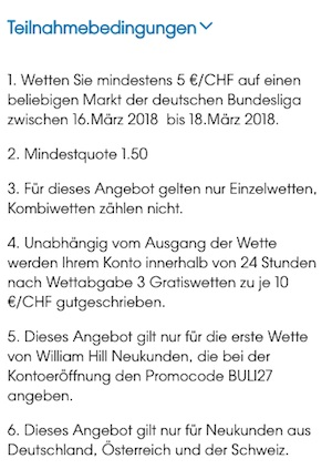 Freebet Anleitung