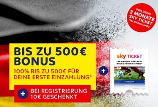 Skybet WM Bonus