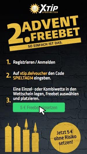 XTiP 5€ Freebet