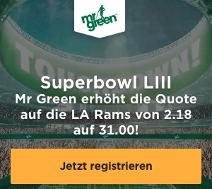 Wettquote Super Bowl