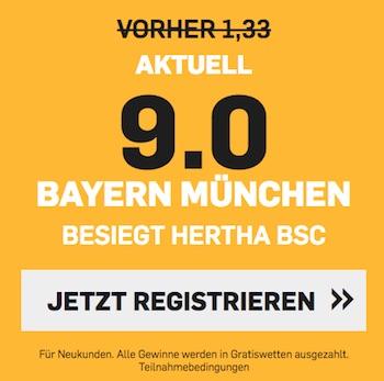 Betfair Boost Bayern