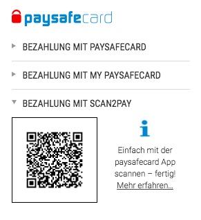 Scan2Pay Tipico