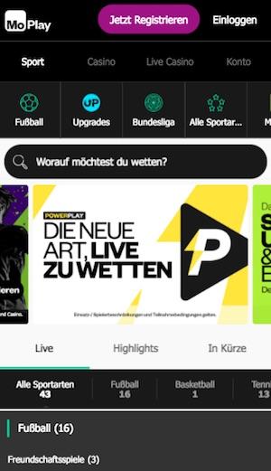 MoPlay App