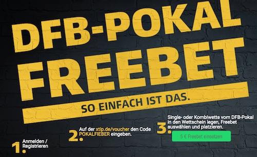 DFB Pokal Xtip Freebet