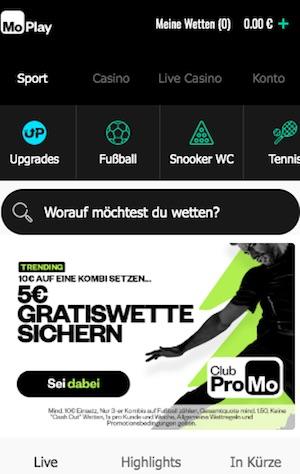 Moplay Startseite