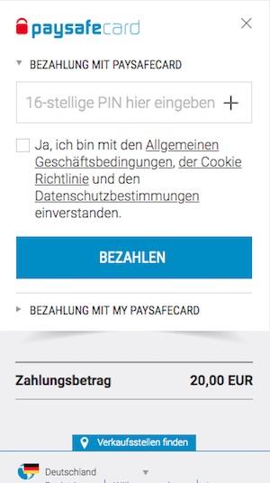 Paysafecard Auf Bankkonto Einzahlen