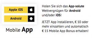 App Infos Bonus bei Xtip
