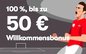 10bet neukundenbonus bis 50 euro