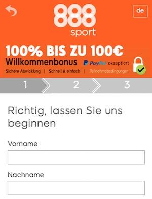 888sport registrierung