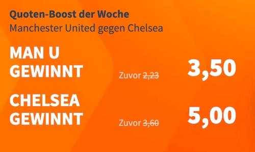 Manchester United vs. Chelsea Betsson
