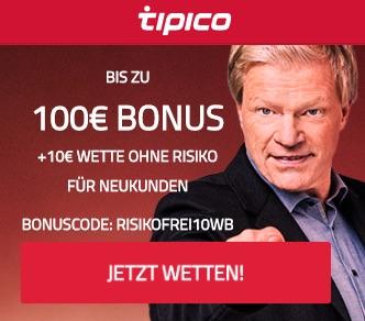 Tipico Bonuscode