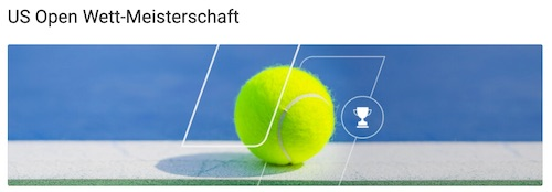 US Open Wett-Meisterschaft Unibet