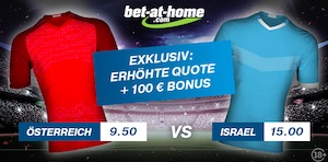 Bet at Home AUT ISR Promo