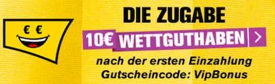 Interwetten 10 Euro Guthaben