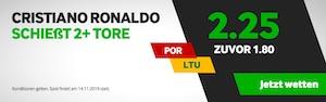 Betway Cristiano Ronaldo Boost