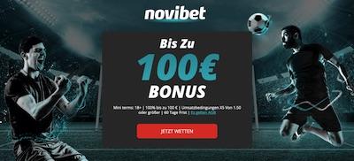 Novibet Bonus 2020