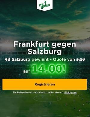 Mr. Green Frankfurt vs. Salzburg Boost