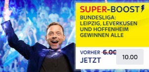 Skybet Super Boost Spieltag 22