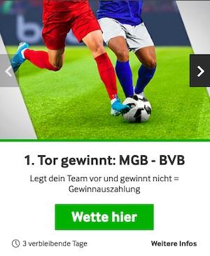 Betway BMG BVB 1. Tor gewinnt