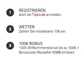Tipico Bonus Code Kaufen