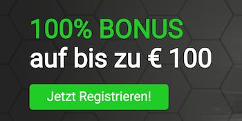 Tipster Bonus 100% bis 100€