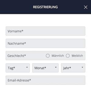 WSbet Registrierung