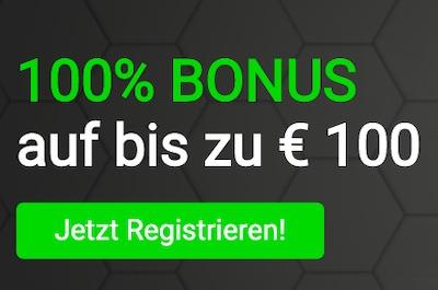 tipster 100% Bonus