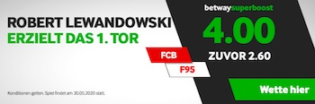 Betway Lewandowski Super Boost