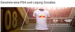Unibet RB Leipzig PS4 Aktion