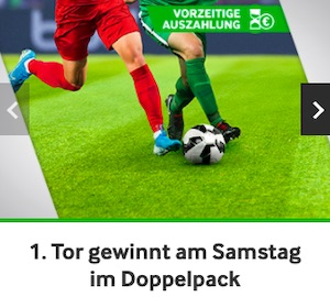 Betway 1. Tor gewinnt Bundesliga