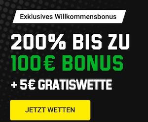 Unibet Bundesliga 5 Euro Gratiswette