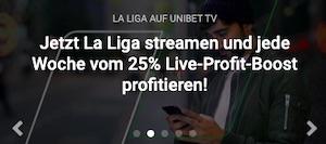 Unibet La Liga Stream Profit Boost