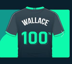 Wallace Bet Bonus 100%