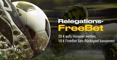 Bwin Relegation FreeBet 10 Euro