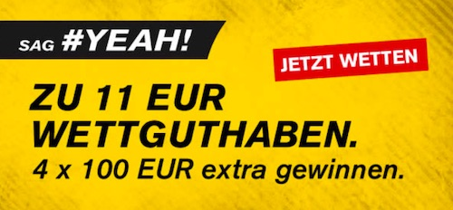 11 Euro Freebet Interwetten