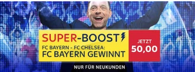 Sky Bet Bayern Boost CL Neukunden