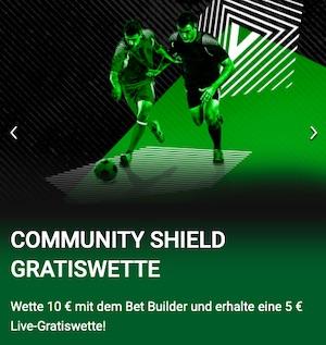 Unibet Community Shield Arsenal Liverpool