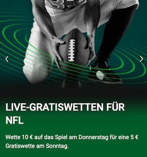 Unibet NFL Live Gratiswetten