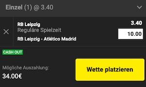 Unibet Leipzig Atletico Wette